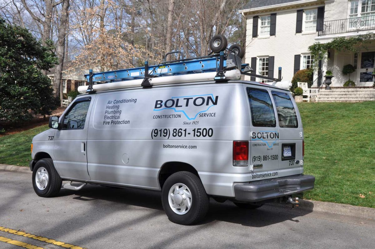 Bolton Services for heating repairs and furnaces in Raleigh, NC