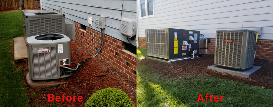 Amana Residential Air Conditioning Service in Raleigh, NC