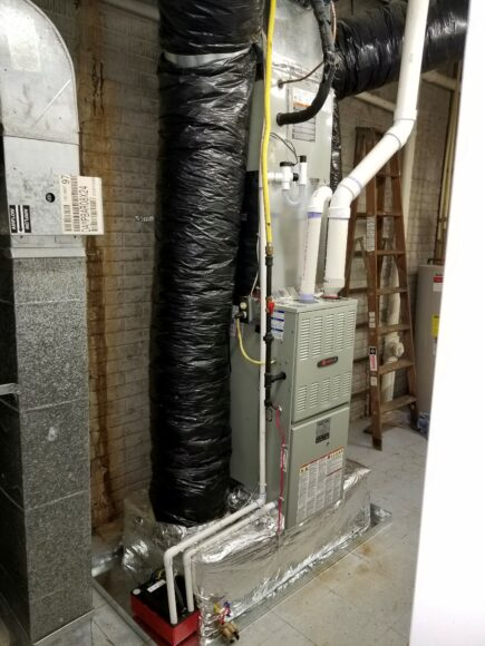 Air conditioning installation contractor in Wake Forest, NC